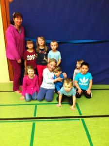 Spiel und Sport für Vorschulkinder in der Ingeborg-Drewitz-Gesamtschule