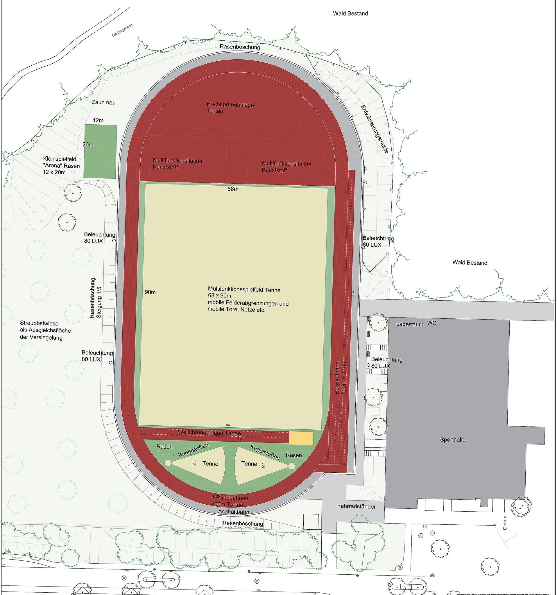 Multifunktionale Sportanlage im Gladbecker Norden kostet 2,3 Millionen Euro